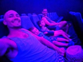 Taylor Family in Planetarium at Daytona Beach MOAS 1