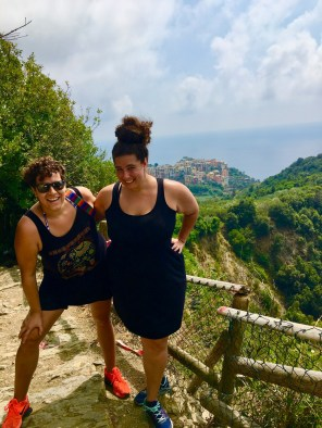 Lesbians Who Travel hiking in Cinque Terre Italy