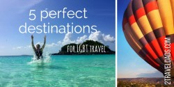 The best way to find new destinations for LGBT travel is to ask those who've been there and felt welcome. Get some new ideas for LGBT travel (or anybody else who's looking for adventure!). 2traveldads.com