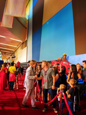 Owen Wilson chatting on Red Carpet Cars 3 Premiere 2017 1