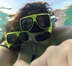 Lesbians Who Travel snorkeling in St.John