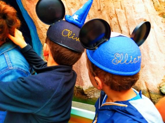 Taylor Family on Storybookland Fantasyland Disneyland 2