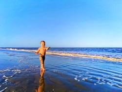 Taylor Family on beach Jekyll Island Golden Isles Georgia 8