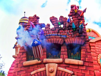Fireworks factory in Toontown Disneyland 1