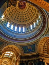 Lower Rotunda of Capitol Building Madison Wisconsin 2