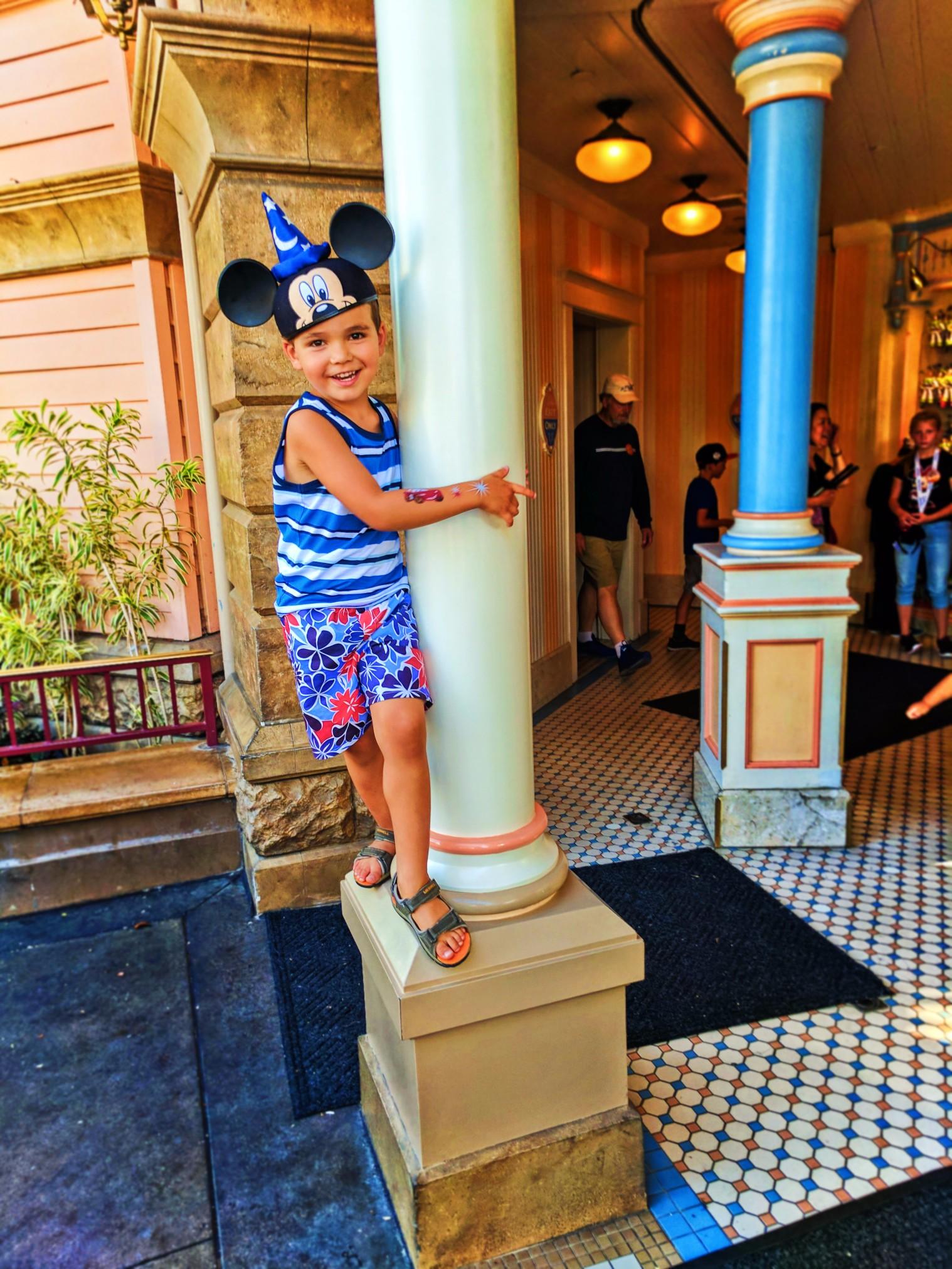 Taylor Family at Toy Story Mania Disneys California Adventure 1