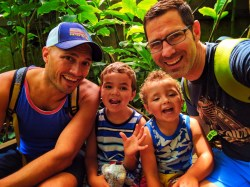 Taylor Family in Conservatory at Olbrich Botanical Gardens Wisconsin 4