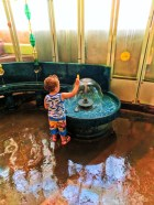 Taylor Family in water room at Madison Childrens Museum 2