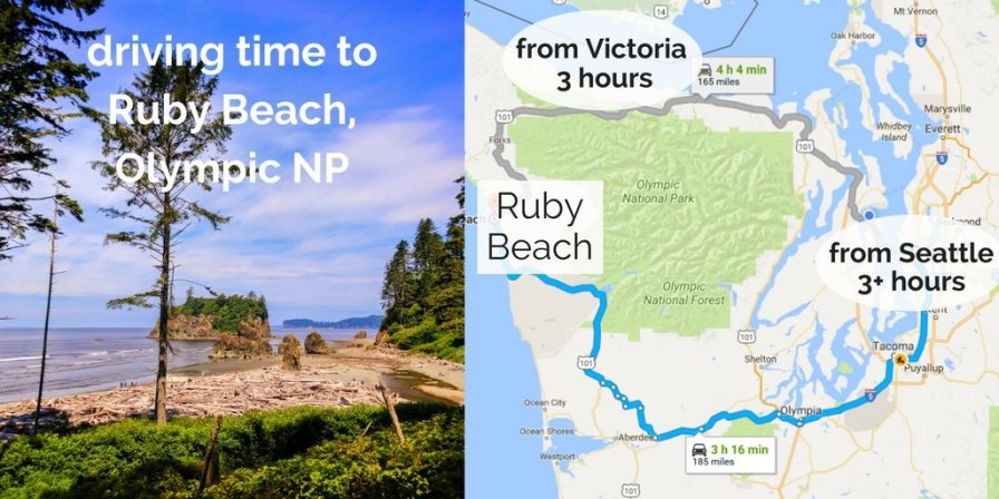 Ruby Beach in Olympic National Park is the most beautiful beach in Washington, with soft sand, tide pools, driftwood and more. 2traveldads.com
