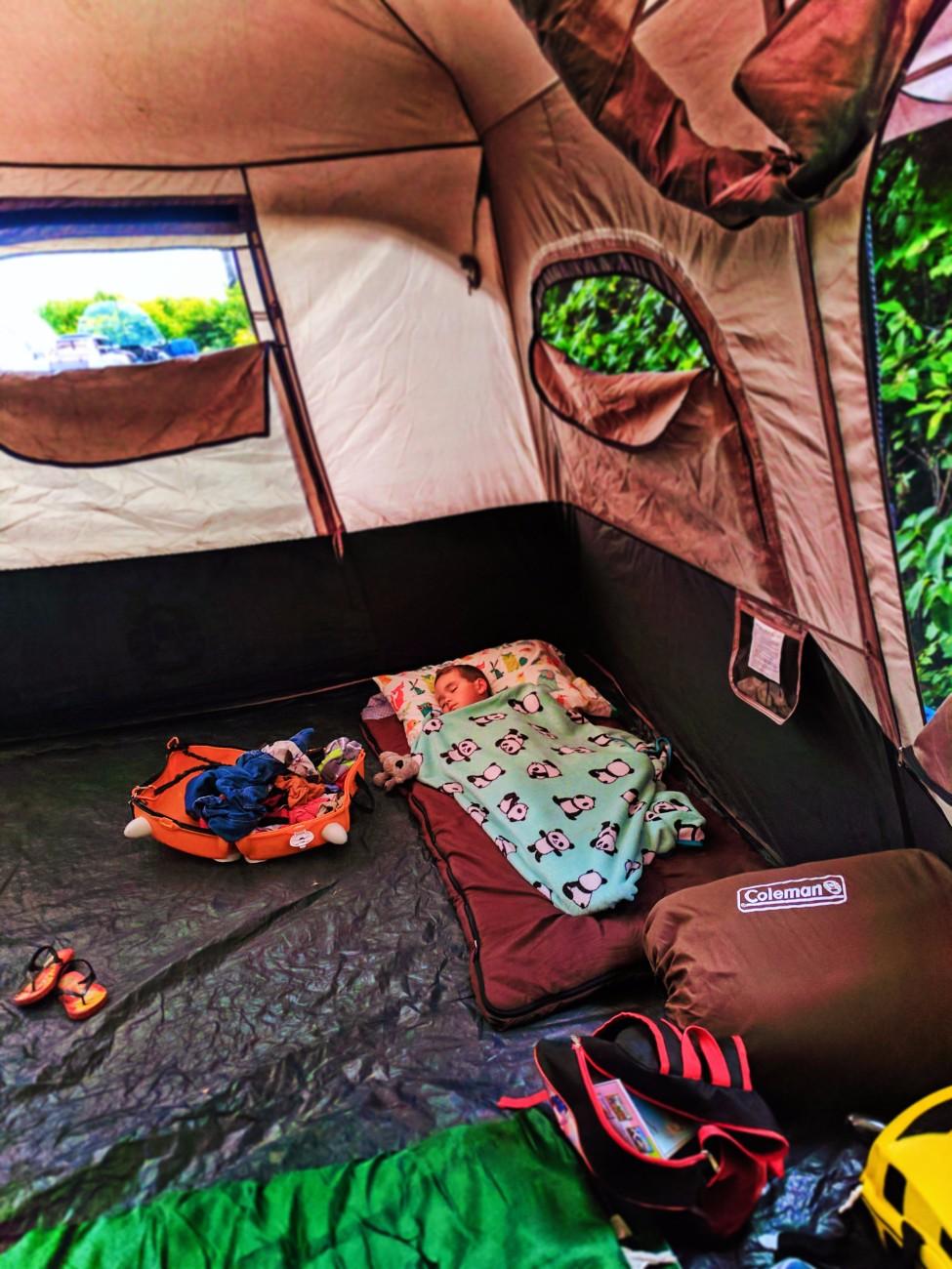 Taylor Family camping at Kalaloch Olympic National Park 9