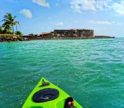 Fortin de San Geronimo from Kayaking Laguna Condado San Juan Puerto Rico 2