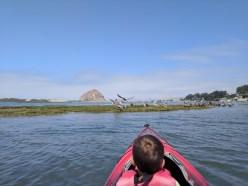 Taylor Family Kayaking at Morro Bay State Park 1