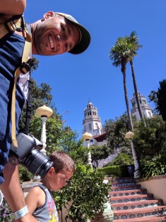 Taylor Family at Hearst Castle 2