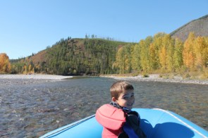 Rafting the Middle Fork Flathead River Glacier National Park