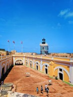 Lighthouse at El Morro Old San Juan National Historic Site Puerto Rico 5