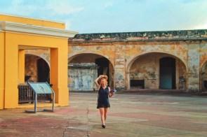 Maureen in Castillo San Cristobal Old San Juan National Historic Site Puerto Rico 1