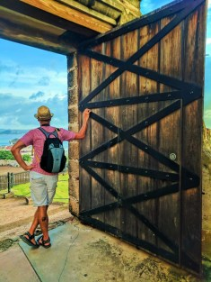 Rob Taylor in Castillo San Cristobal Old San Juan National Historic Site Puerto Rico 2