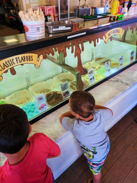 Taylor Family at Doc Burnsteins Ice Cream Lab Orcutt Santa Maria Valley 3