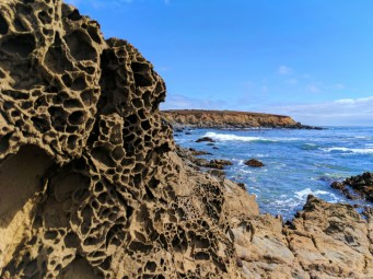 Hollow rocks at Fiscalini Ranch Reserve Cambria California Central Coast 2