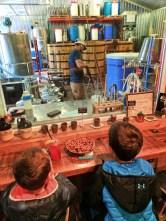 Taylor Family at Glacier Distilling Company West Glacier Montana 1