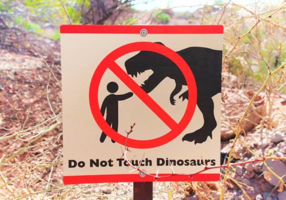 Dinosaurs in the Desert at Phoenix Zoo 3