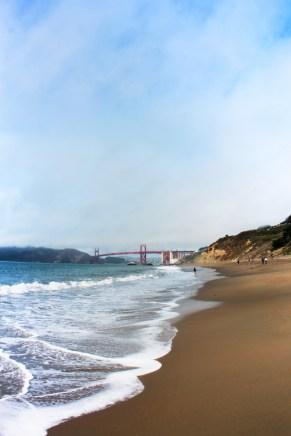 Golden Gate Bridge from Baker Beach GGNRA San Francisco 9