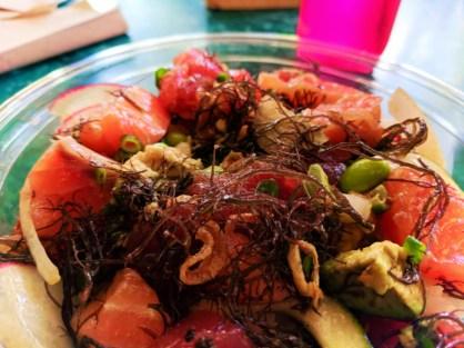 Poke bowl at Ulu Cafe at Disney Aulani 1