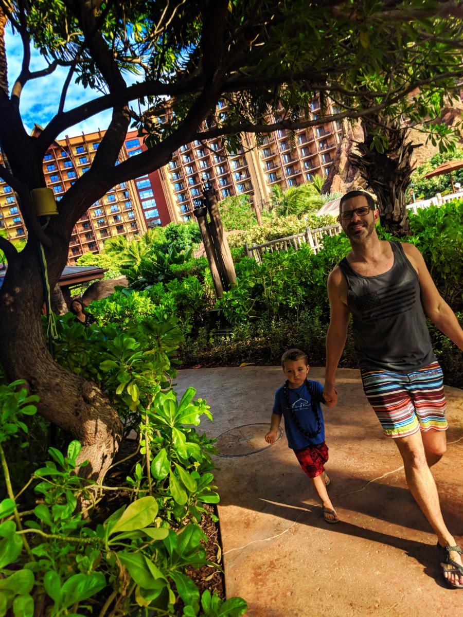 Taylor Family at Disney Aulani Oahu 1