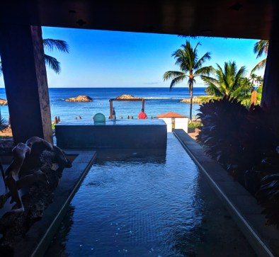 View from Amma Amma Restaurant Disney Aulani Oahu 1