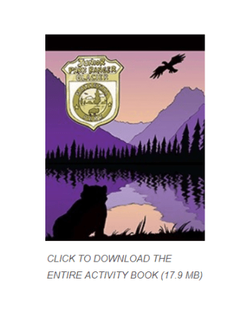 Accessing Junior Ranger Program from NPS site 2