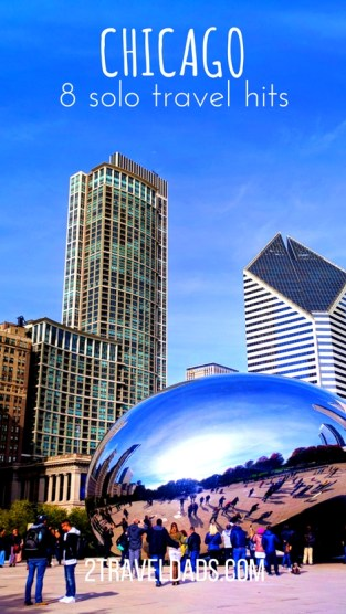 Chicago solo travel is a great city adventure. Museums, food, historic buildings and tours, it's a perfect weekend escape or easy to explore as a business traveler. 2traveldads.com
