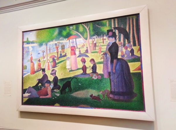 Georges Suratt Sunday Afternoon at La Grande Jatte Art Institute of Chicago 2