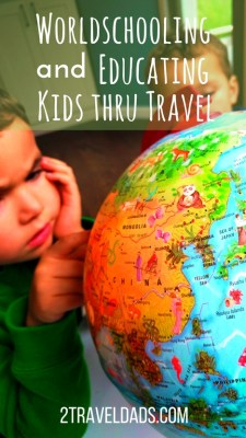 Worldschooling is the practice of homeschooling kids with the added experience of extensive travel, leverageing culture and nature as education. Creating a broad world view while teaching the kids everything they'd learn in public schools. 2traveldads.com