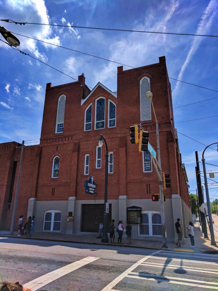 Ebenezer Baptist Church at Martin Luther King Jr National Historic Site Atlanta 1