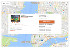 Step 3: locate available properties (we liked Map view)