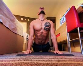 Rob Taylor Rock Om Yoga in Guestroom at Hard Rock Hotel Universal Orlando Resort 10