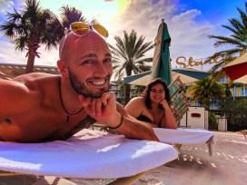 Rob Taylor and Friend at Universal Cabana Bay Resort Orlando 1