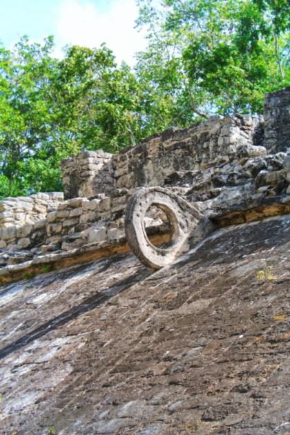 Ball courts at the Coba Mayan Ruins Yucatan 3