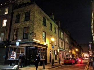 Brick buildings Shorditch London UK 1