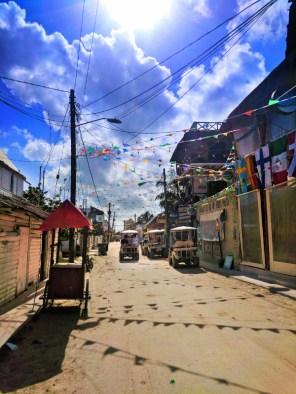 Downtown Holbox dirt roads Isla Holbox Yucatan 3