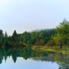 Emerald City Life Terumi Gold Creek Pond Snoqualmie Pass 4