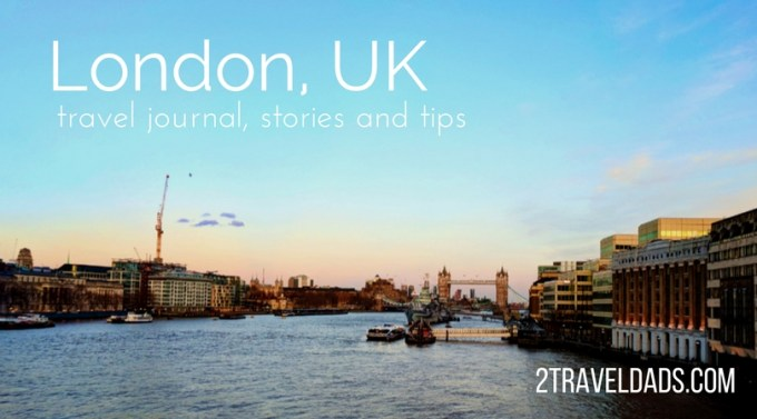 Exploring London and keeping a travel journal is a great way to save memories, share London travel tips, and to keep friends at home in the loop. 2traveldads.com