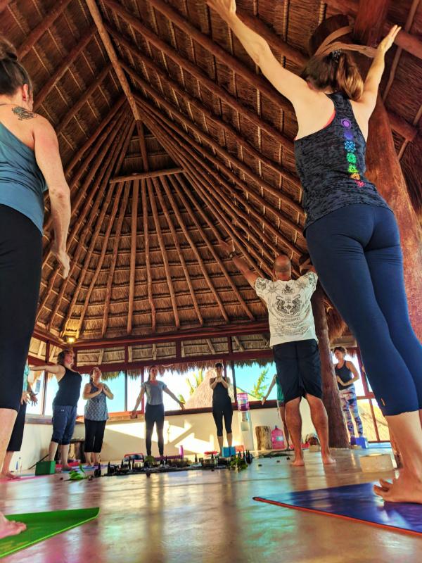 Participants at Isla Holbox Yoga Retreat 4