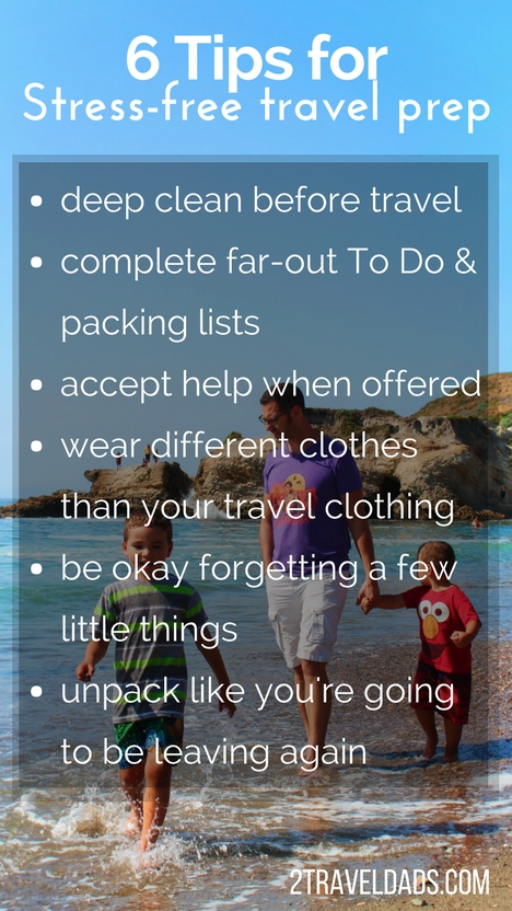 Stress Free Travel Prep Is Easy With These 6 Simple Steps. From Spring  Cleaning Out Good Looking