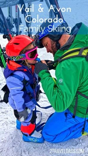 Family skiing in Vail Colorado pin (1)