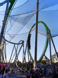 Incredible Hulk rollercoaster at Universals Islands of Adventure Universal Orlando 2