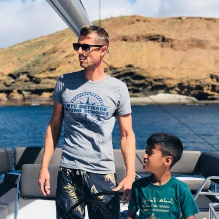 Wind Expedition woldschooling on catamaran Lisbon Portugal 1