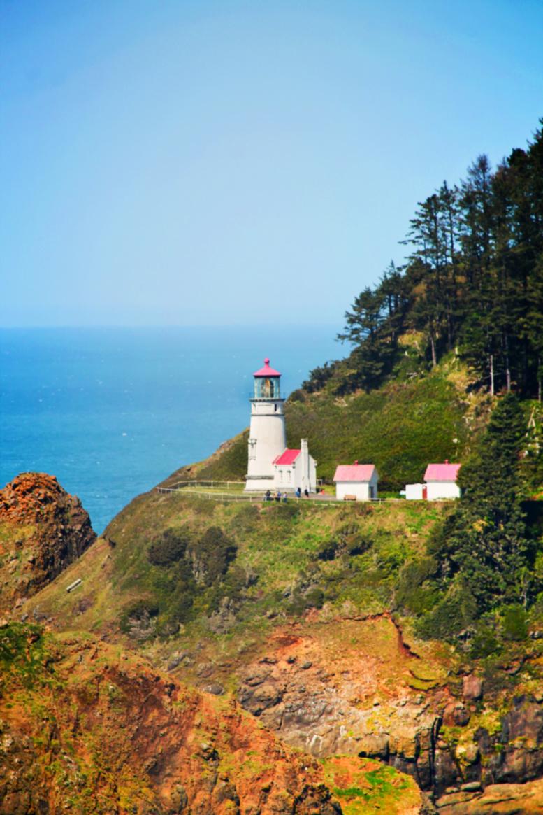 Haceta Head Lighthouse Florence Oregon Coast 3