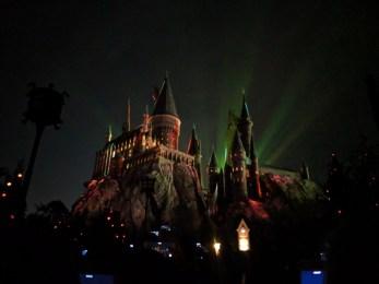 Hogwarts at Night Wizarding World of Harry Potter Islands of Adventure Universal Orlando 4