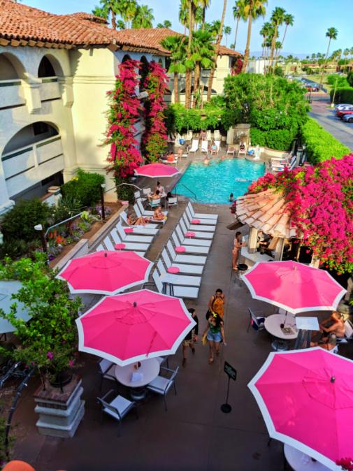 Pool at Best Western Plus Las Brisas Hotel Palm Springs 3
